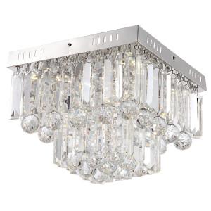 CARMINA LAMPA SUFITOWA PLAFON 18W LED CHROM
