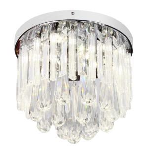 ATELLA LAMPA SUFITOWA PLAFON 12W LED CHROM