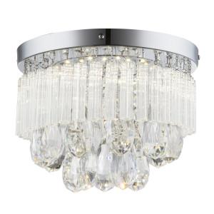 LONELLA LAMPA SUFITOWA PLAFON 12W LED CHROM