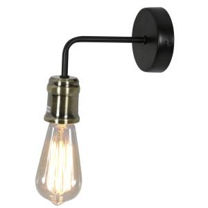 GOLDIE LAMPA KINKIET 1X60W E27 CZARNY+PATYNA (Z ŻARÓWKĄ 3030948)