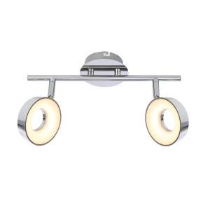 ISLA LAMPA SUFITOWA LISTWA 2X4W LED CHROM 3000K