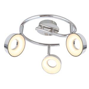 ISLA LAMPA SUFITOWA SPIRALA 3X4W LED CHROM 3000K