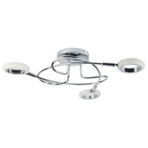 AURELION LAMPA SUFITOWA PLAFON 3X4W LED CHROM 3000K