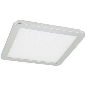 NEXIT LAMPA SUFITOWA PLAFON 40X40 24W LED IP44 CHROM+GRANILA 3000K