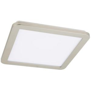 NEXIT LAMPA SUFITOWA PLAFON 30X30 18W LED IP44 SATYNA+BIAŁY 3000K
