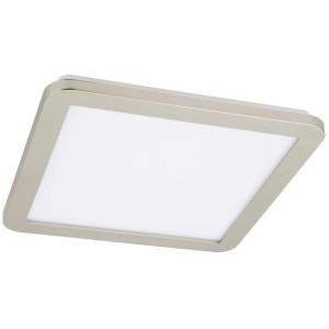 NEXIT LAMPA SUFITOWA PLAFON 40X40 24W LED IP44 SATYNA+BIAŁY 3000K