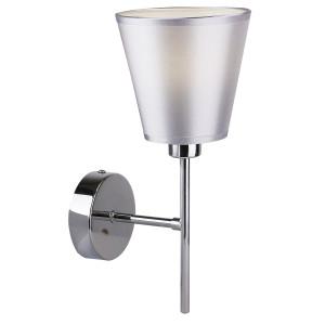 VOX LAMPA KINKIET 1X40W E14 CHROM Z ABAŻUREM