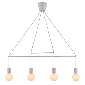 ALTO LAMPA WISZĄCA 4X40W E27 BIAŁY MATOWY