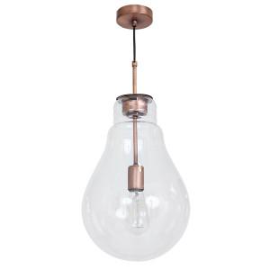 Lampa wisząca BULBO  miedziany 7693 Luminex