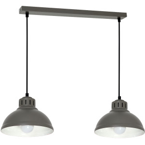 Żyrandol SVEN grey 9079 Luminex