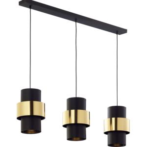 CALISTO LAMPA WISZĄCA BLACK/GOLD 4378