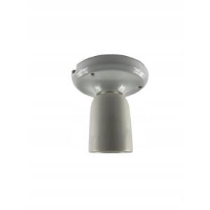 Kinkiet Oprawka ceramiczna E27 BIAŁA sufit LAMPA