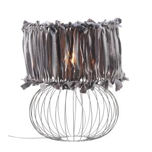 Lampa stołowa BALL ART DECO GREY NAMAT