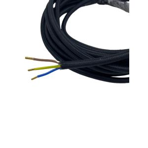 Przewód elektryczny OMY czarny 3x0,75 PVC linka