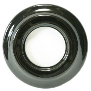 Ceramiczna Ramka Pojedyńcza   Podtynkowa Czarna