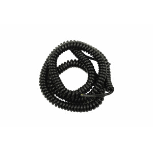 Kabel spiralny PVC kolor czarny o przekroju 3x1