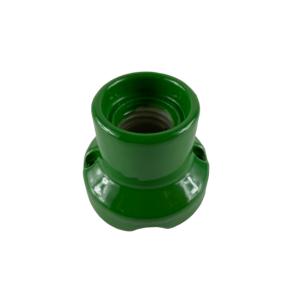 KINKIET PORCELANA zielony FAI 0071 OPRAWKA E27 PRL
