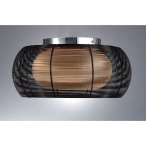 Lampa sufitowa TANGO, Zuma Line, MX1104-2 BLACK