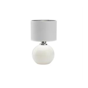 PALLA SMALL WHITE/SILVER LAMPKA NOCNA 1 PŁ 5066