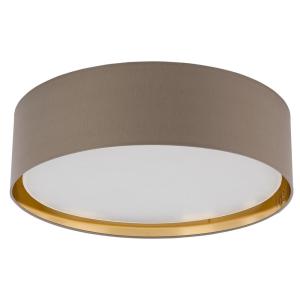 BILBAO BEIGE/GOLD LAMPA SUFITOWA 4 PŁ 600