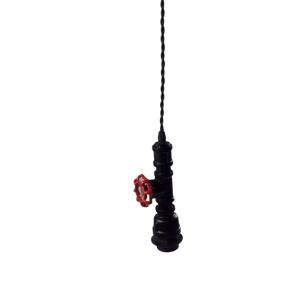 Lampa wisząca hydrauliczna z zaworem industrialna E27