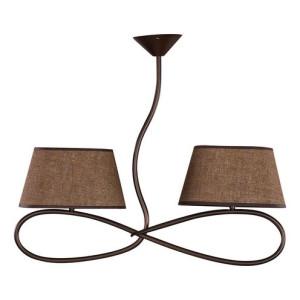Lampa wisząca SENSO 2 plafon ciemny 16304 SIGMA