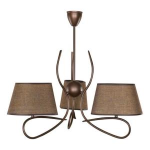 Lampa wisząca SENSO 3 żyrandol ciemny 16302 SIGMA