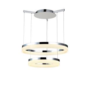 Lampa wisząca ZOLA 60/40 CHROME AZzardo