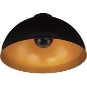 Lampa HEMISPHERE CEILING BLACK-GOLD 6934 Nowodvorski
