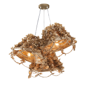 Lampa wisząca ART DECO GOLD NAMAT