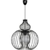 Lampa wisząca MEKNES black I zwis 5298 Nowodvorski