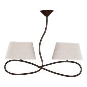 Lampa wisząca SENSO 2 plafon jasny 16312 SIGMA