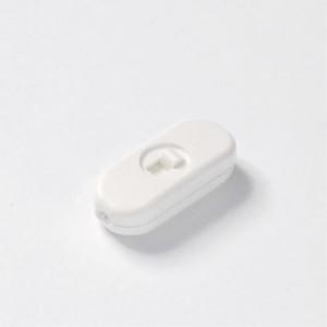 Przełącznik suwakowy biały