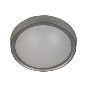 VATAN LAMPA SUFITOWA PLAFON 30 1X11W E27 PLASTIK ENERGO (W KOMPLECIE) SZARA