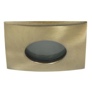 SH-10 GAB MR16 PATYNA stare złoto oczko sufitowe lampa sufitowa HERMETYCZNA IP65 odporna na wilgoć