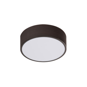 ZIGO LAMPA SUFITOWA PLAFON 10W LED 6500 K METAL WENGE 250X80MM