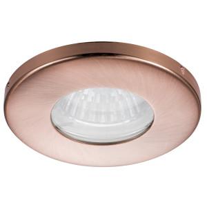 SH-06 CR MR16 MIEDZIANYoczko sufitowe lampa sufitowa HERMETYCZNA IP65 odporna na wilgoć