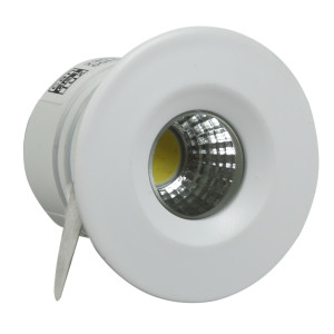 SH-14 WH 3W LED 230V BIAŁY oczko sufitowe lampa sufitowa HERMETYCZNA IP65 odporna na wilgoć