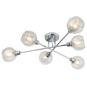 DIXI LAMPA SUFITOWA 6X40W E14 CHROM