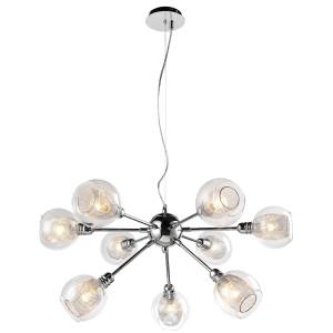 DIXI LAMPA WISZĄCA 9X40W E14 CHROM