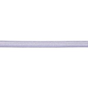 Kabel w oplocie okrągły szary 2x0,75
