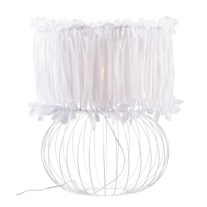 Lampa stołowa BALL ART DECO WHITE NAMAT